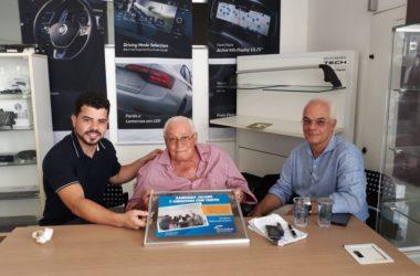 Sincadise visita empresario Raimundo Juliano.