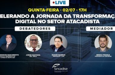 Live vai debater a transformação digital no setor atacadista