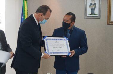 Empresário Silvio Celso de Lira recebe título de Cidadão Sergipano